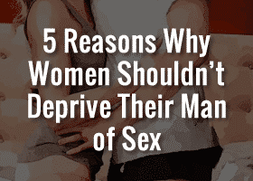 deprive a man of sex